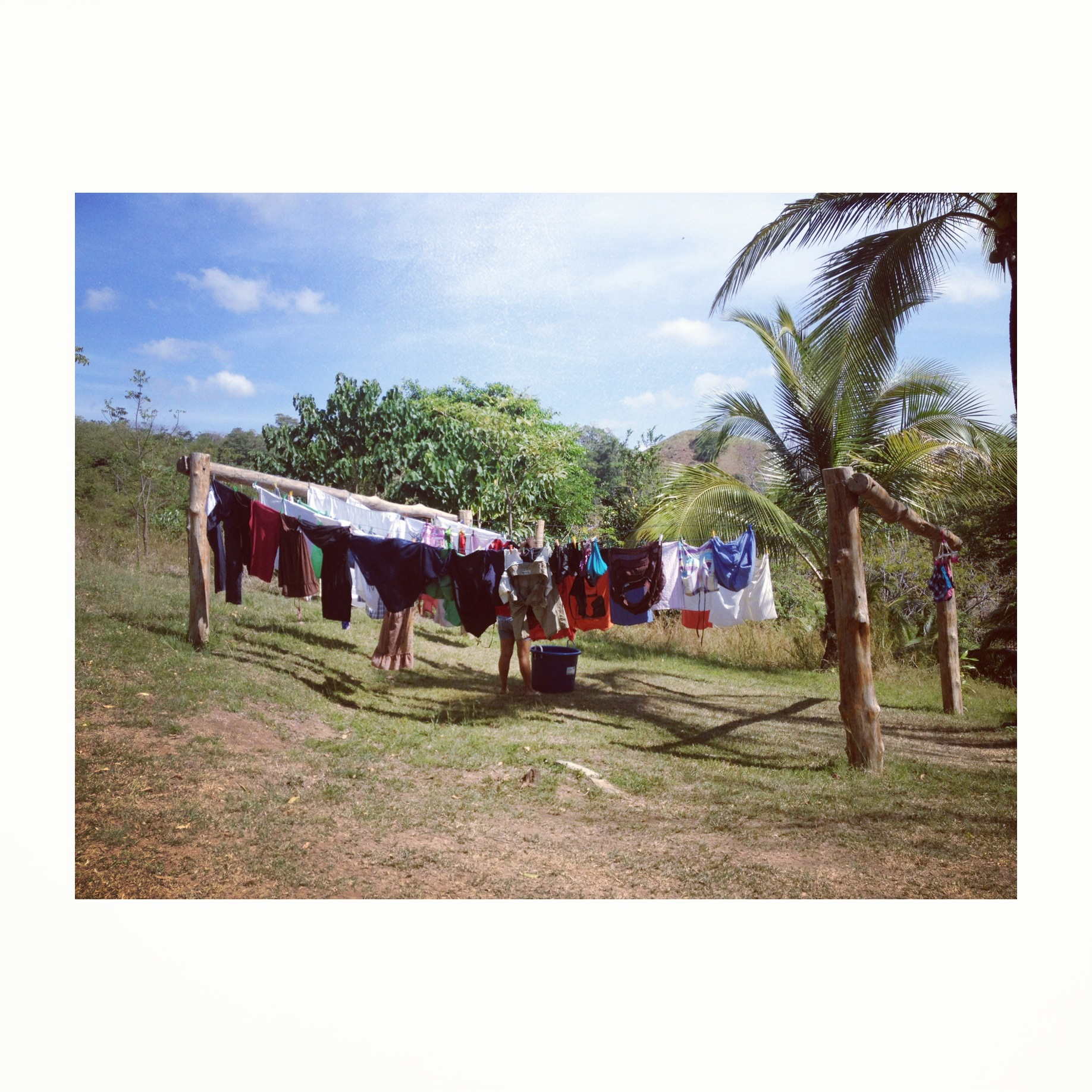 tendedero en Eco Venao en Panama