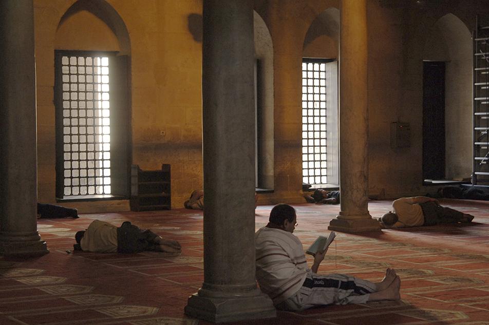 Mezquita en el Cairo
