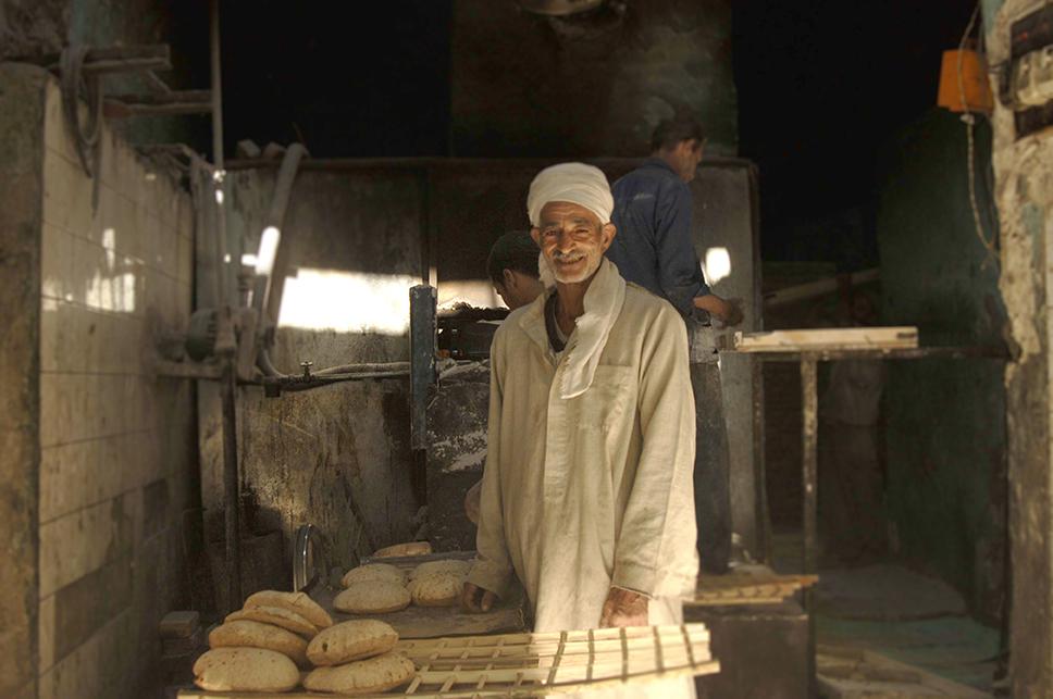 Panadero en el Cairo