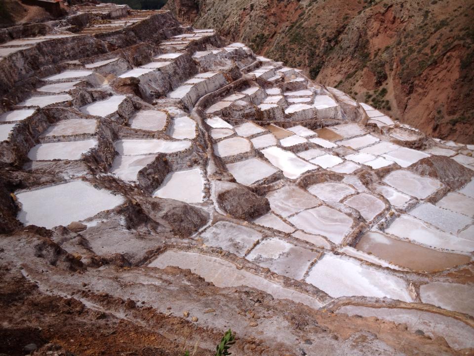 Salinas de Maras en el valle sagrado Peru