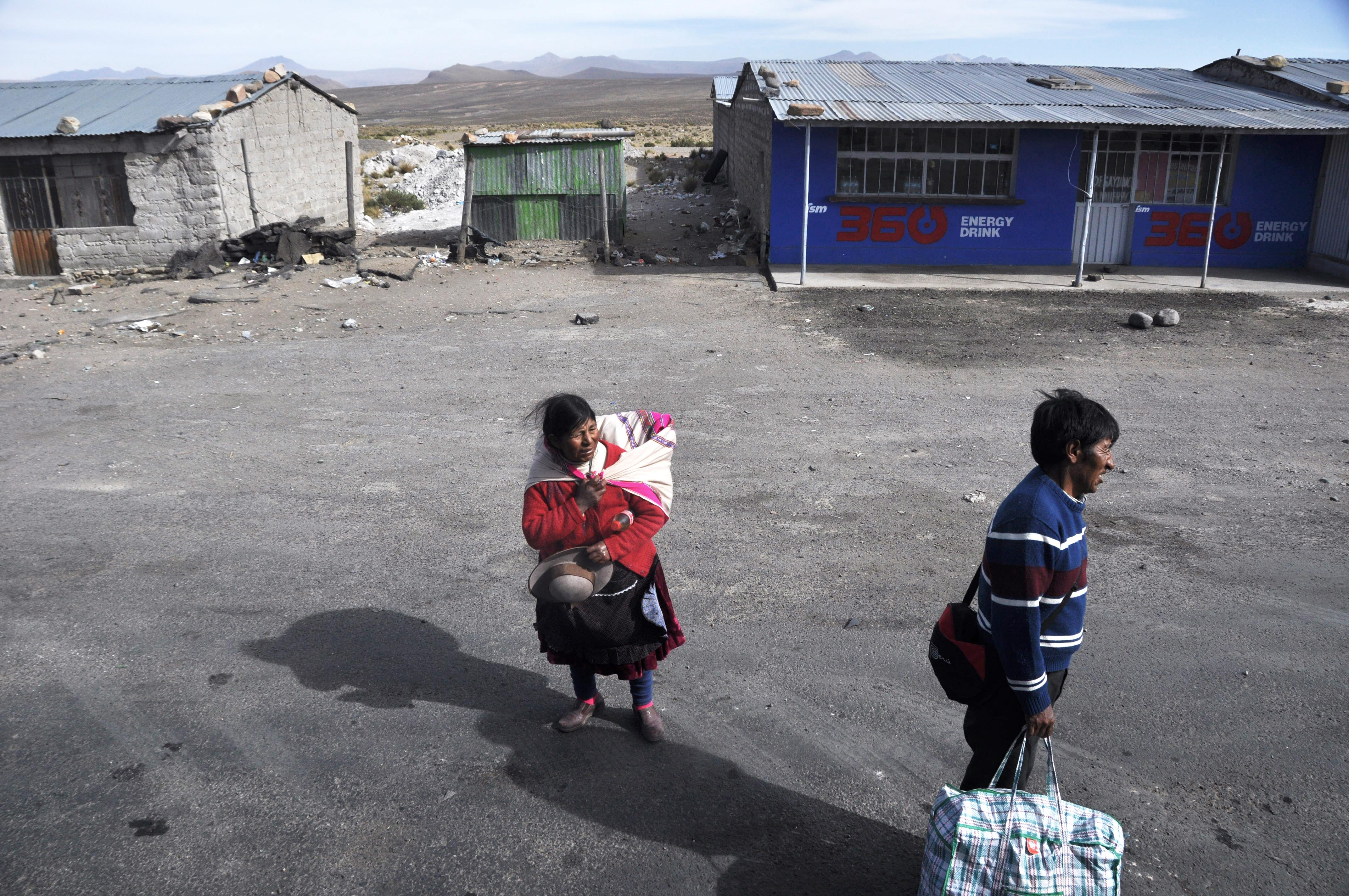 Indigenas de Peru