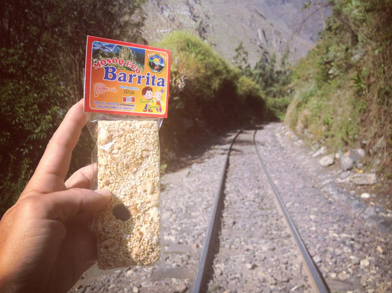 Peru 2013_Camino barato a Machu Pichu. Barrita energética natural. Sonsoles Lozano