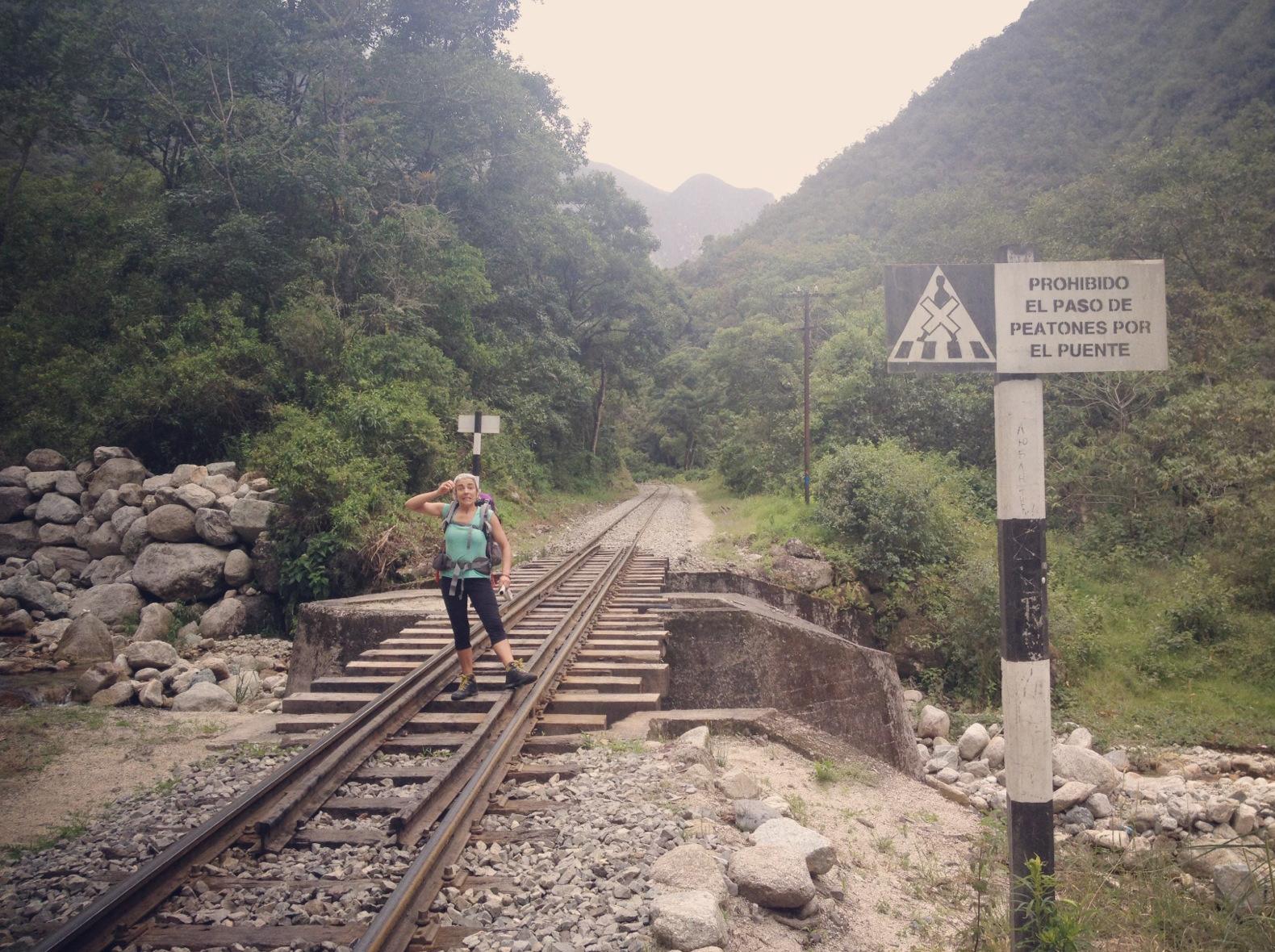 Peru 2013_Camino barto a Machu Pichu. Sonsoles Lozano.