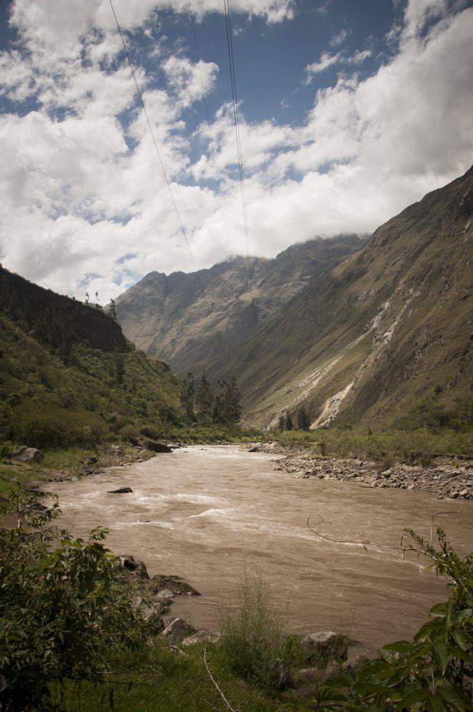 Rio Urubamba. Peru 2013_Caminobarato a Machu Pichu. Sonsoles Lozano.