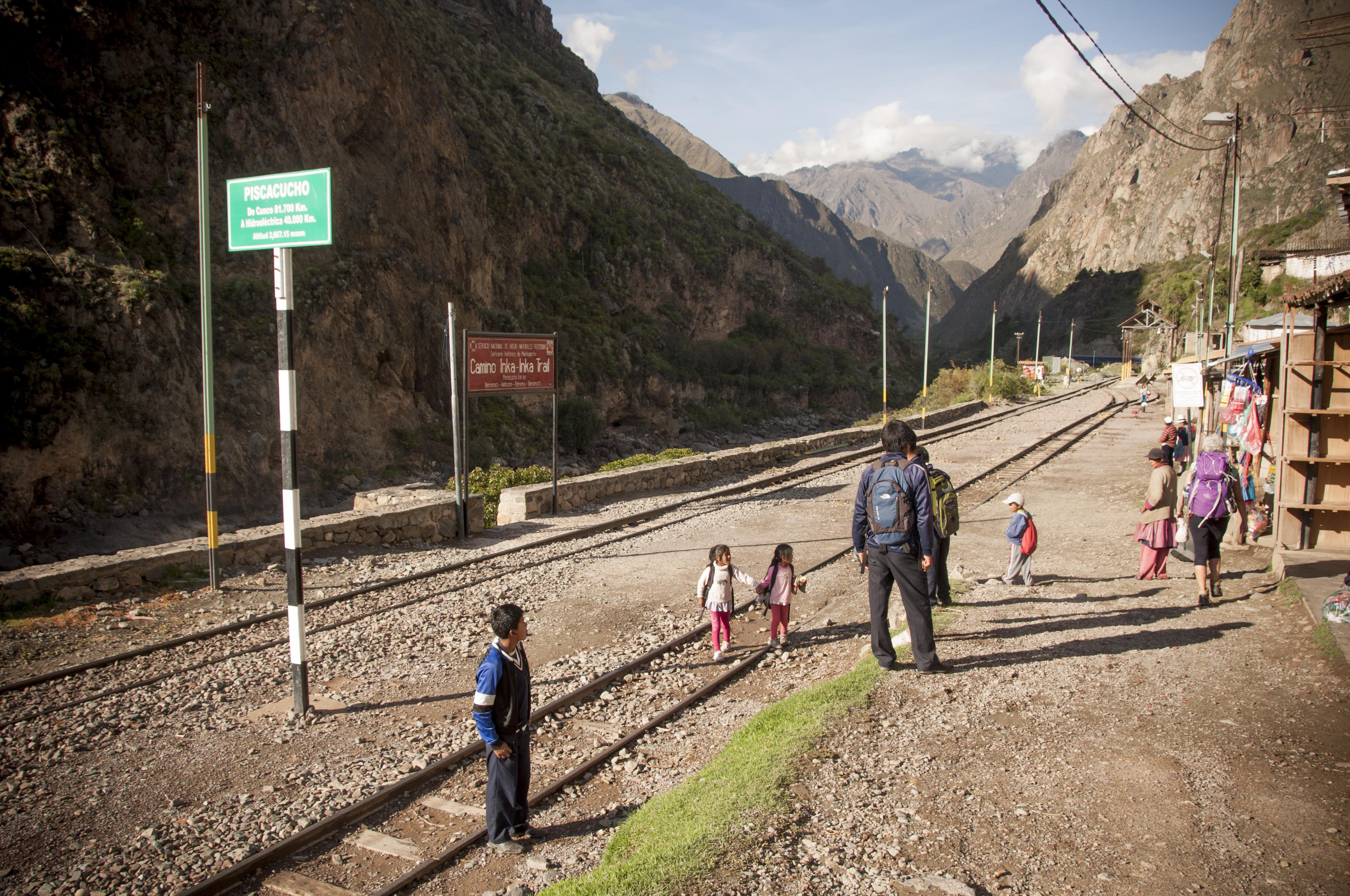 Peru 2013_Camino barato a Machu Pichu. Sonsoles Lozano.