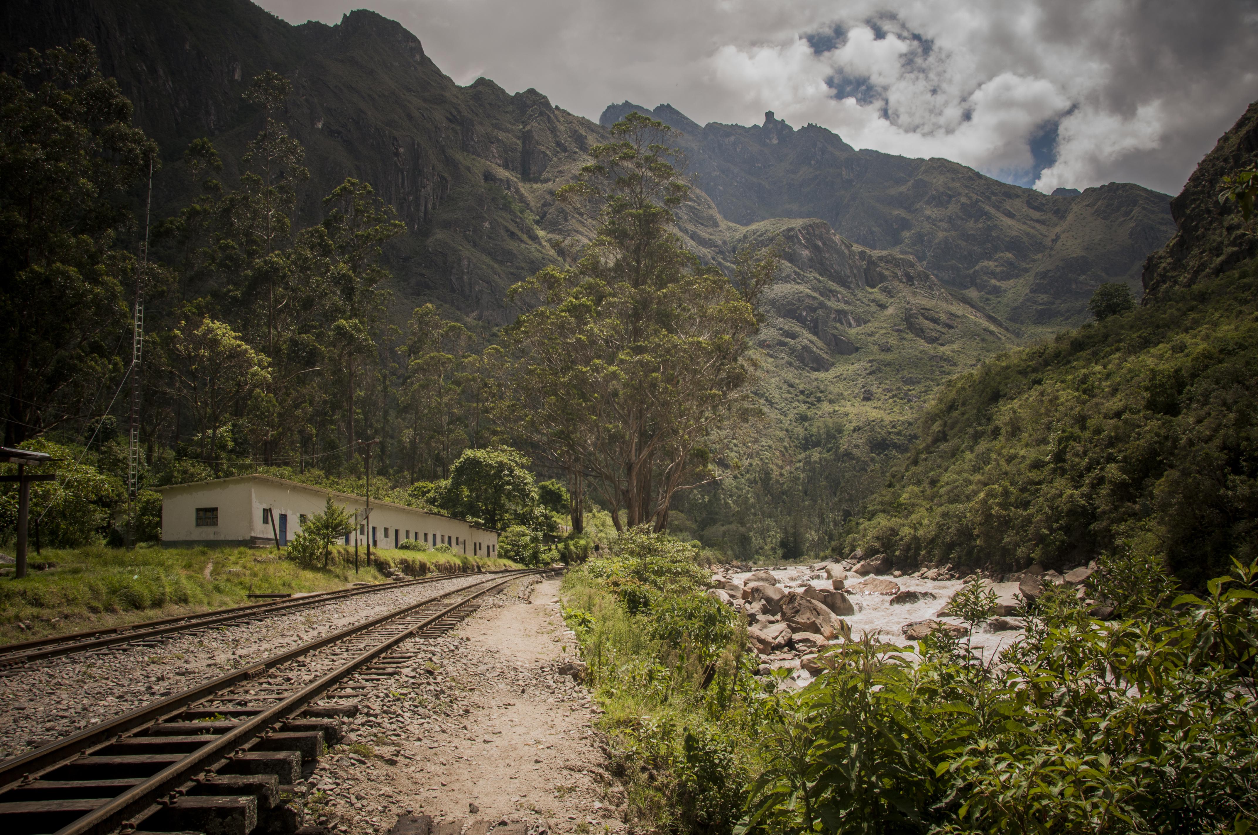 Rio Urubamba. Peru 2013_Camino barato a Machu Pichu. Sonsoles Lozano.