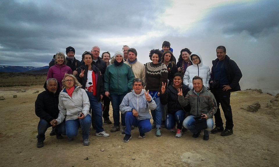 Tour con guía española en Namaskarð, Islandia. Sonsoles Lozano