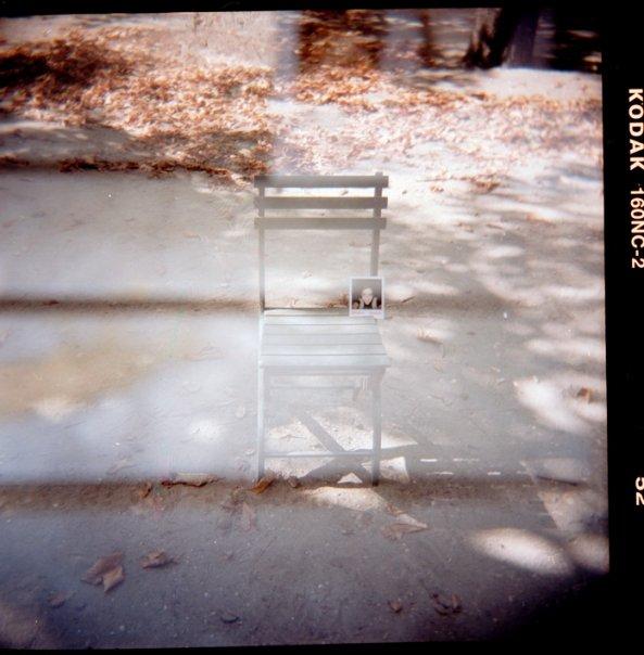 Autorretrato en Polaroid, Paris. Sonsoles Lozano