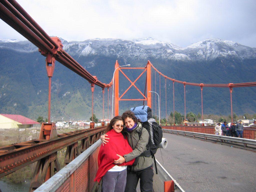 Mochilera en Chile. Sonsoles Lozano.