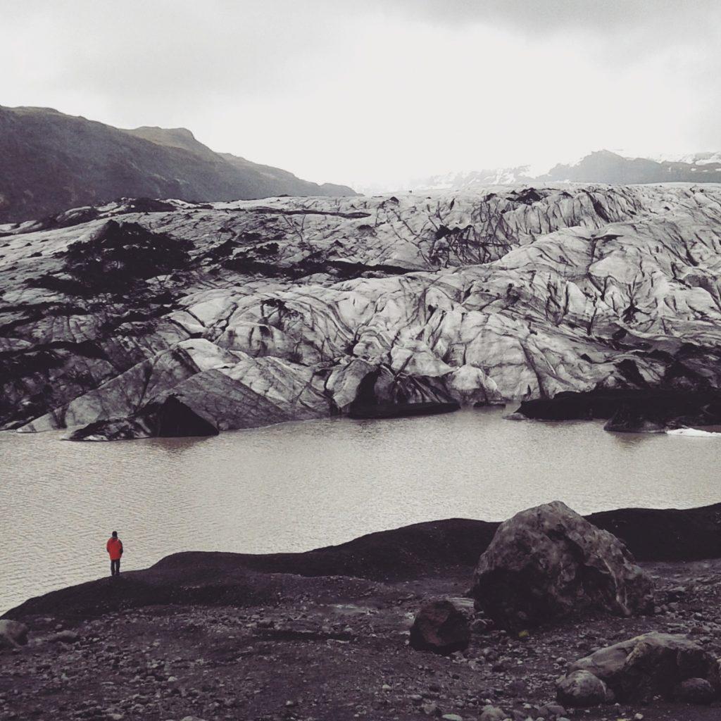 Viajar a Islandia. Glaciar Solheimajokull. Sonsoles Lozano