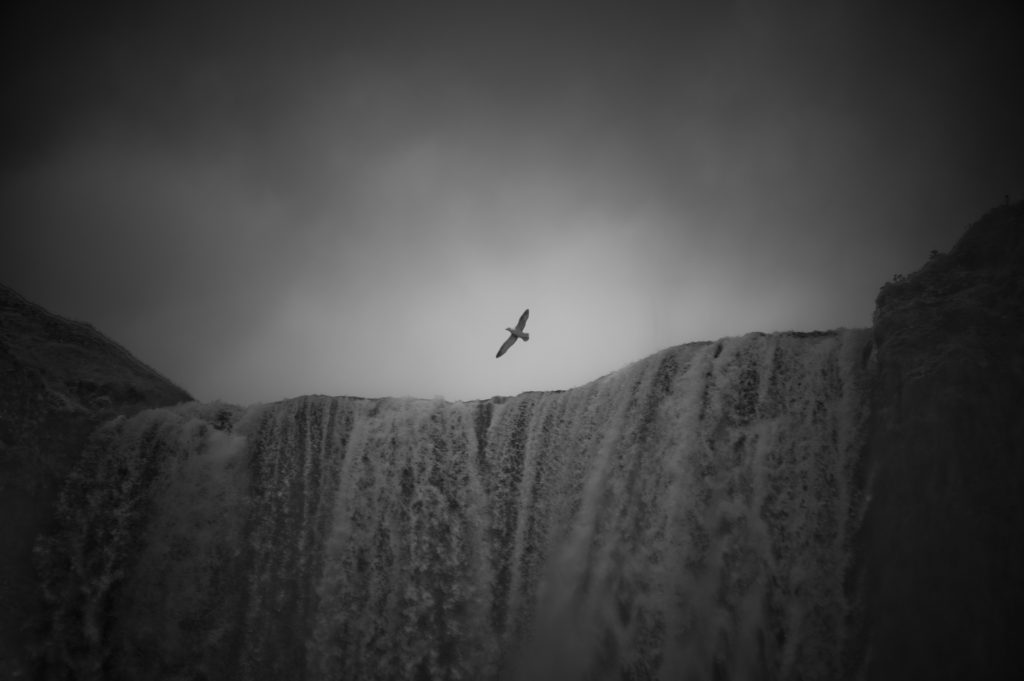 Viajar a Islandia. Skogafoss. Sonsoles Lozano