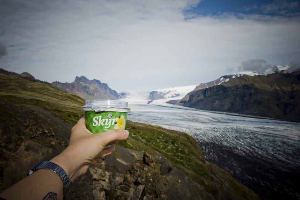 Senderismo y trekking en Islandia_Parque natural de Skaftafell. Senderismo y trekking en Islandia_Parque natural de Skaftafell. Skyr