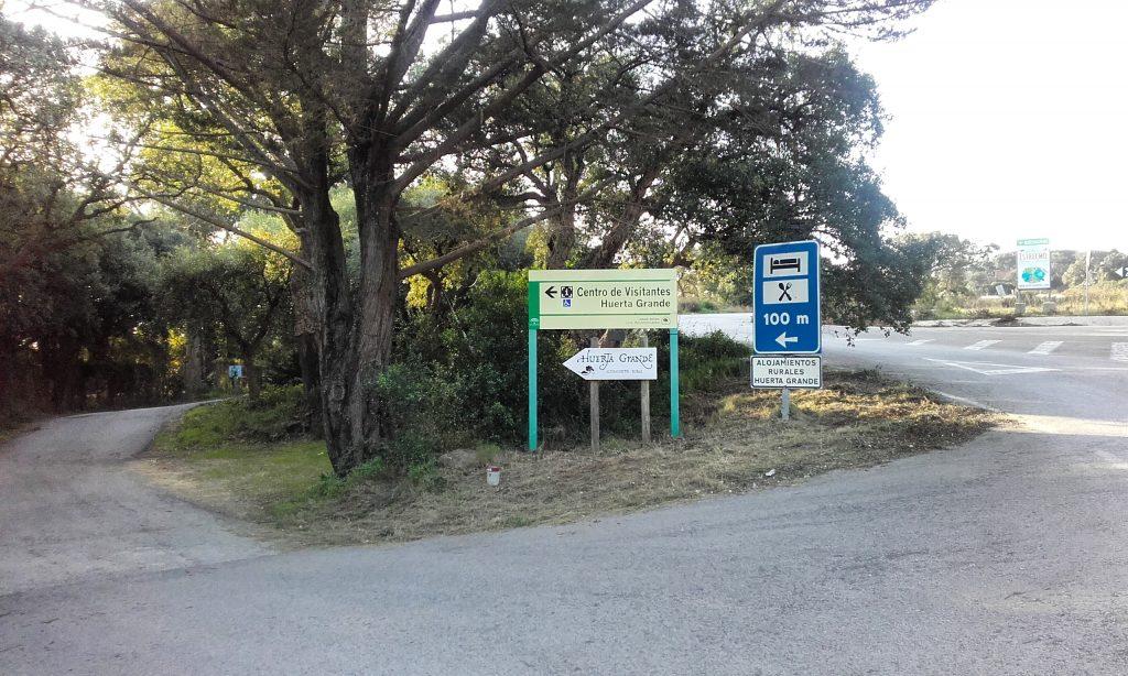 Rutas de Senderismo. Cerro del tambor. Pelayo a Tarifa.