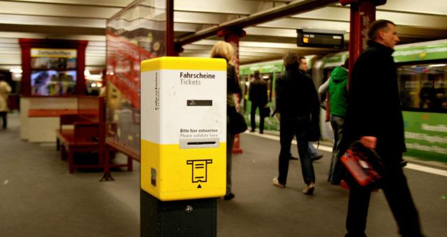 Metro en el Viaje a Berlin