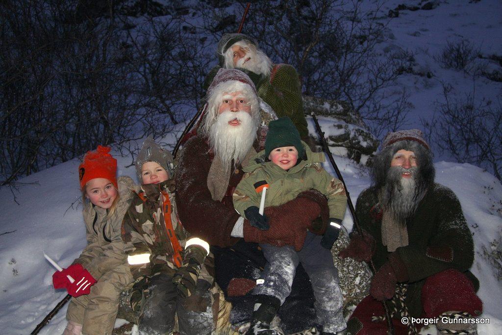 Navidad en Islandia. Dimmuborgir