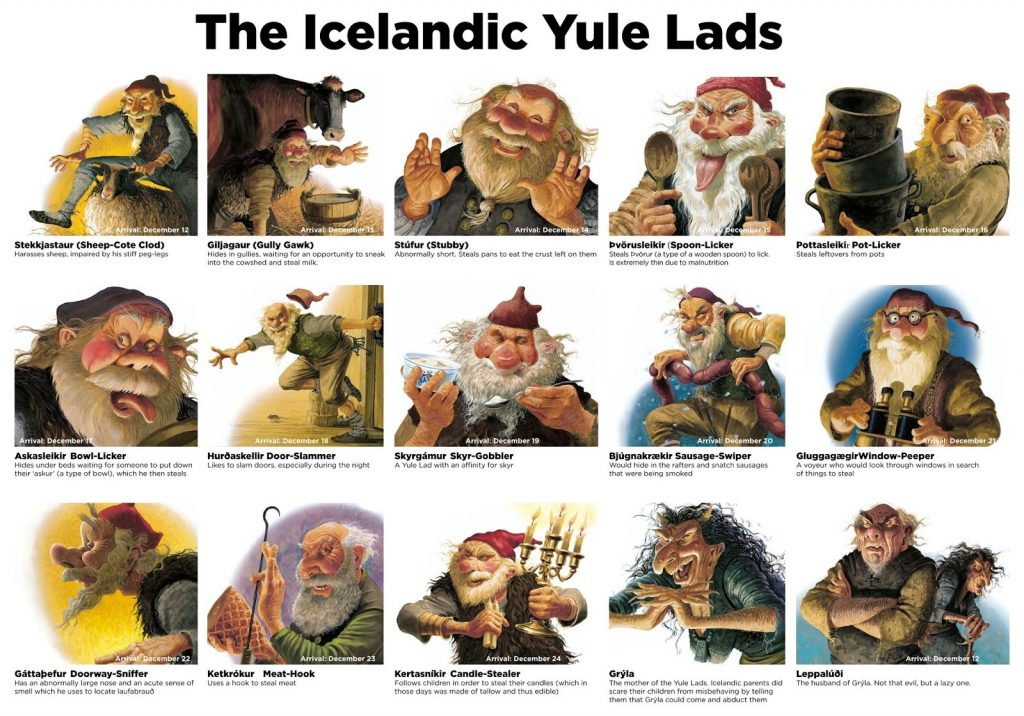 yule-lads